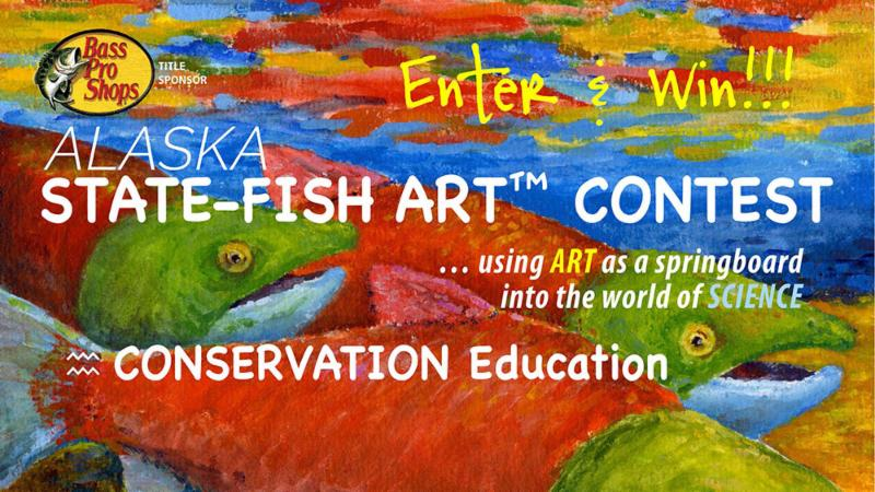 State fish art contest