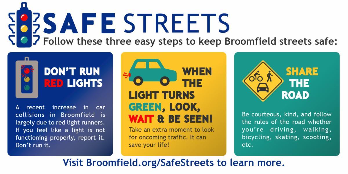 Safe Streets steps