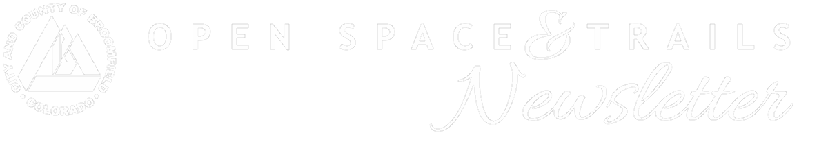 Open Space and Trails Newsletter header image