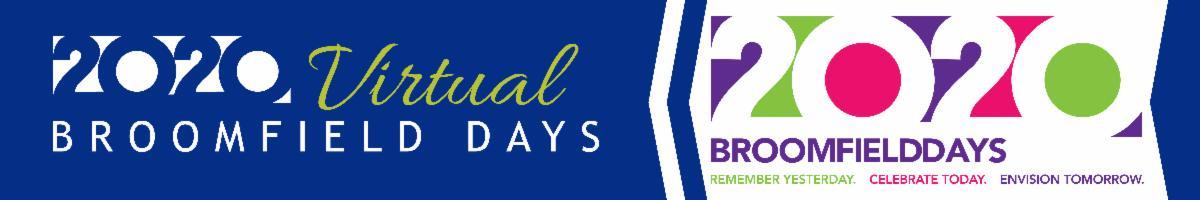 Virtual Broomfield Days header banner