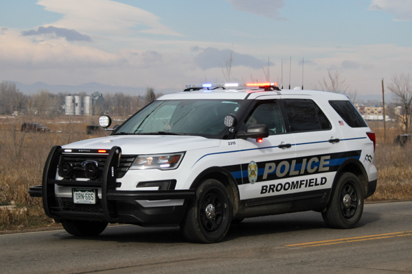 Broomfield Police Vehicle