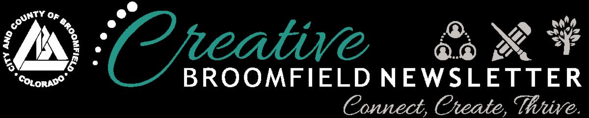 Creative Broomfield newsletter header