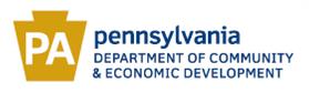 Logo for Pennsylvania Department of Community & Economic Development (DCED)