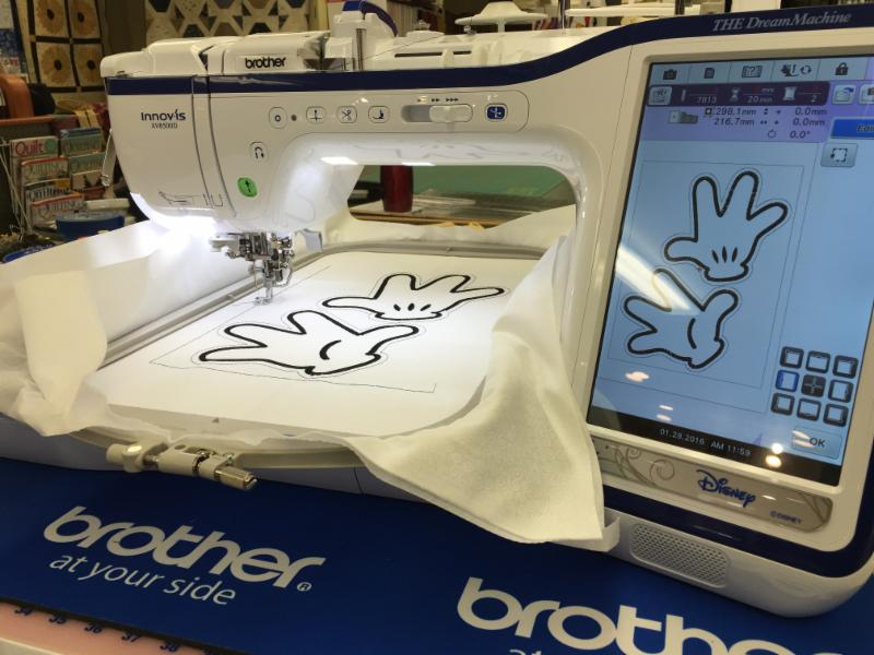 Brother National Embroidery Machine Offer Enchanting Brother Sewing Machine Authorized Dealer
