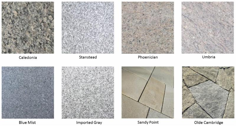Granite Collage