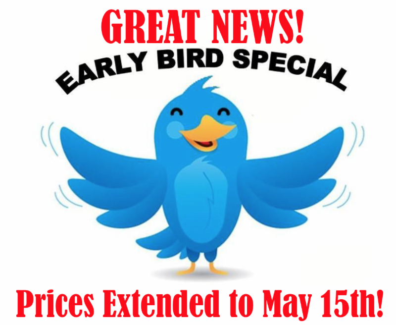 Early Bird Extended