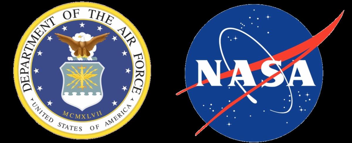 AF and NASA Logo
