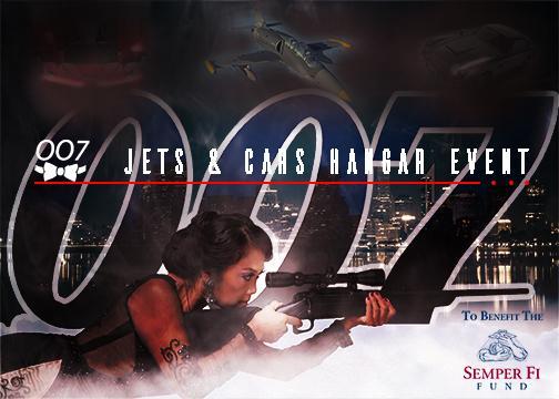 Jets & Cars Postcard Image