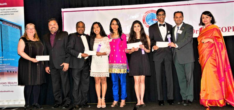 GOPIO-CT Scholarship Winners 2018