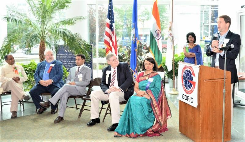 GOPIO-CT Independence Day Celebration with dignitaries