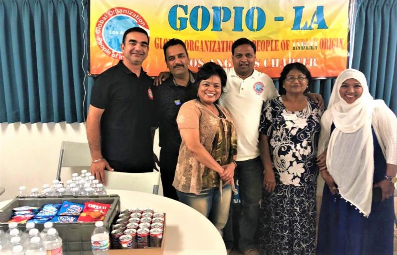 GOPIO-Lod Sngeles Blood Drive 2018