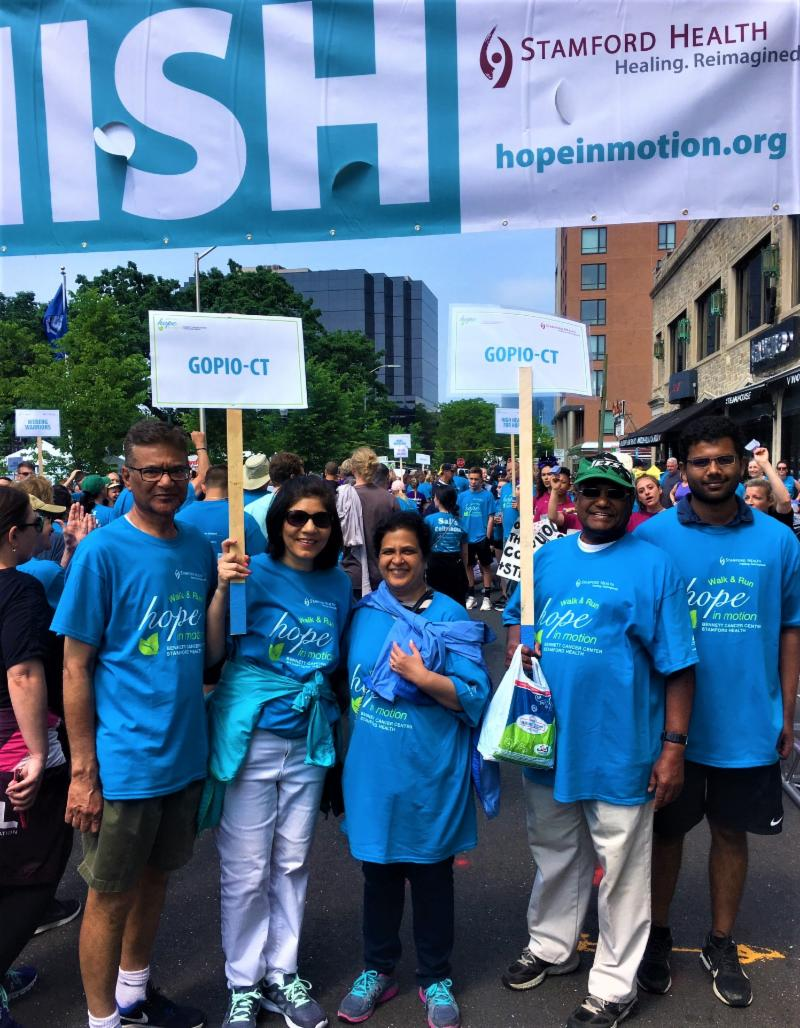 GOPIO-CT Chapter participates in Hope in Motion
