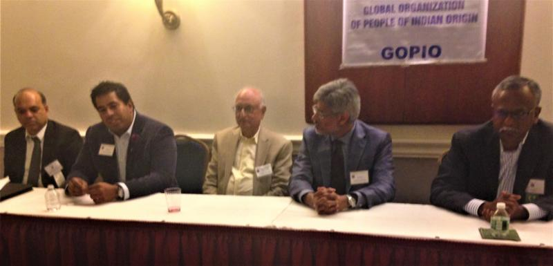 GOPIO-CT Discussion Panel on How to Succeed in America