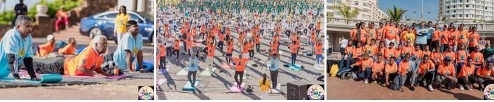 Yoga Day 2019 in Durban