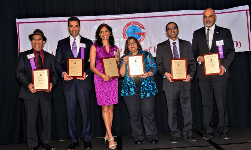 GOPIO-CT Awardees honored at 2018 Banquet