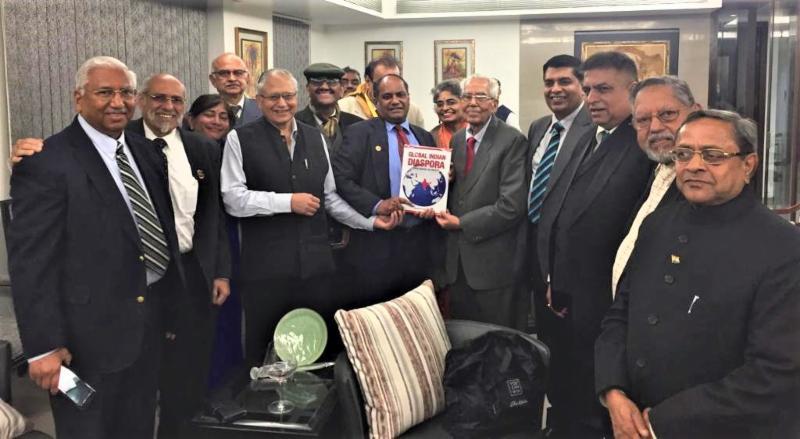 Shiv Khera's Reception for GOPIO delegates in Delhi
