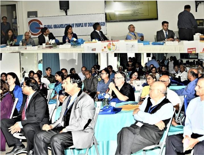 Panelists and speakers at GOPIO Diabetes Summit