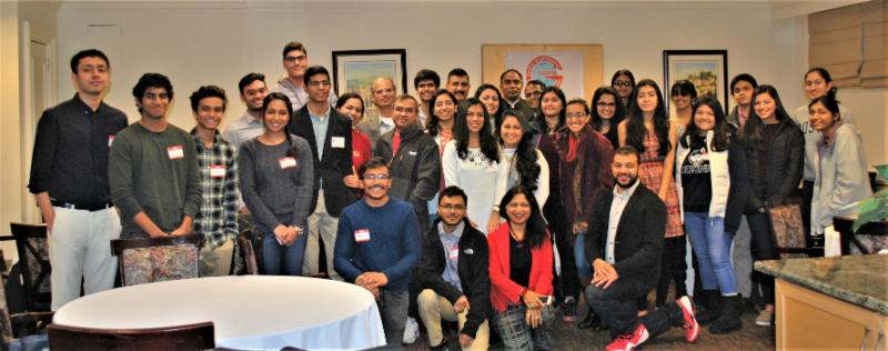 GOPIO Youth Networking GGet together Dec. 2017