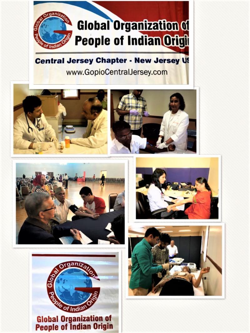 GOPIO-Central Jersey Health Fair