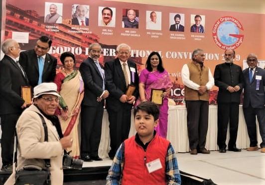 GOPIO Community Service Awardees 2019