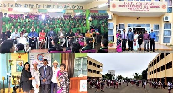 GOPIO Officials Visiting Institutions in Mauritius.June 2018