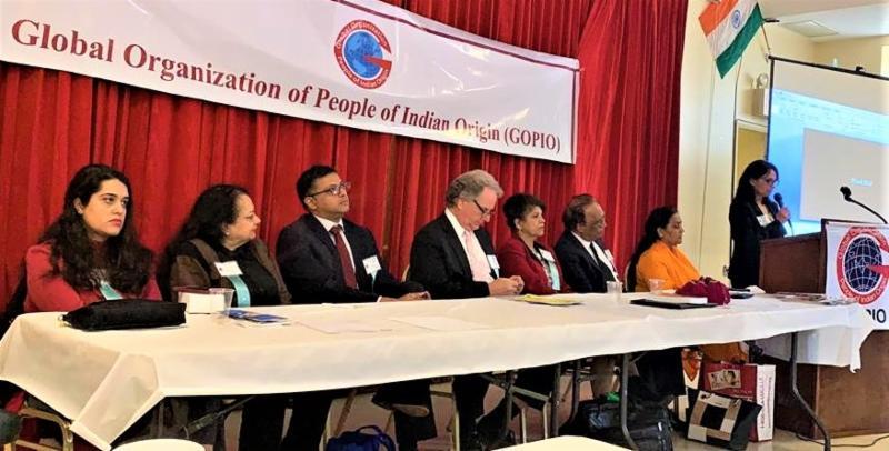 Panelists at GOPIO-NY Health Symposium