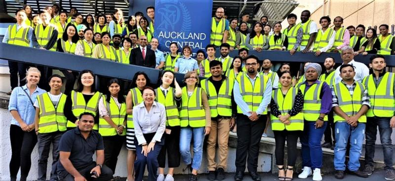 GOPIO-Aukland with Police Dept. on Intl. Students Welfare.