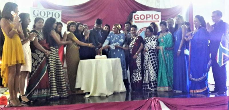 Launching GOPIO Triolet North chapter