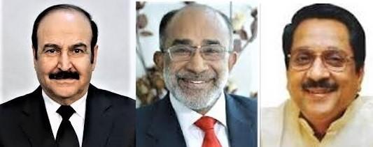 Dr. bin Alin Mirza, Minister Kannanthanam and Minister Raj Purohit