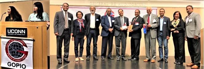 UConn and GOPIO welcome  Prof. Panagariya