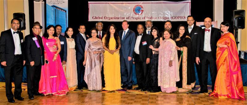 GOPIO-CT officials with Senator Richard Blumenthal