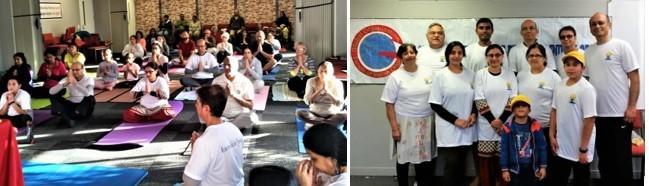 GOPIO Yoga Day 2019 in Hamilton