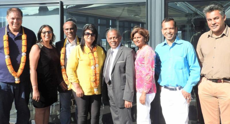 GOPIO International delegates welcomed in Reunion Island