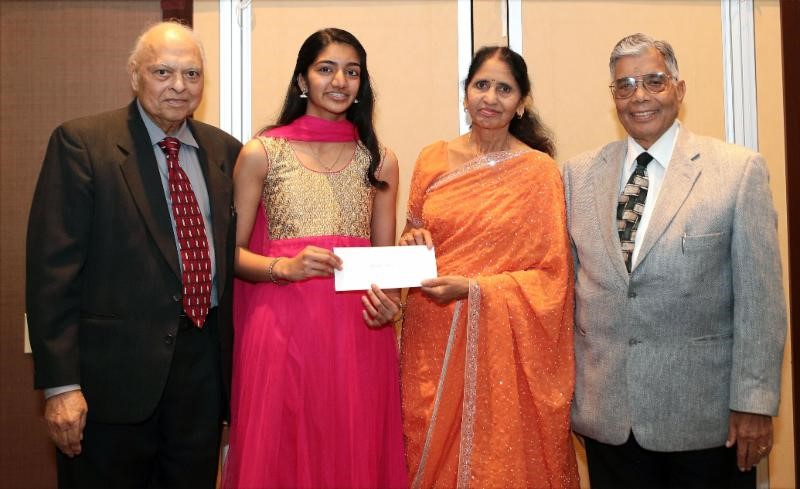 Indian American Heritage 2018 top awardee Versha Nair