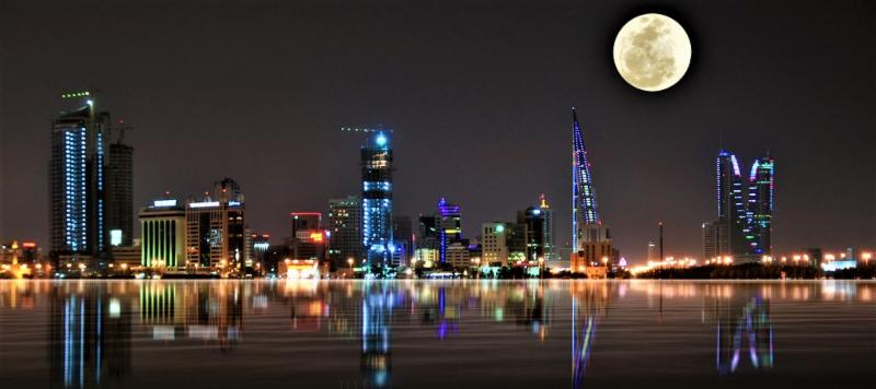 Bahrain Skyline for GOPIO Convention 2018