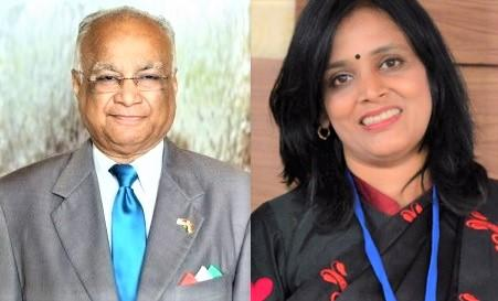 GOPIO Special Awards to Jaswant Mody and Smita Srivastav