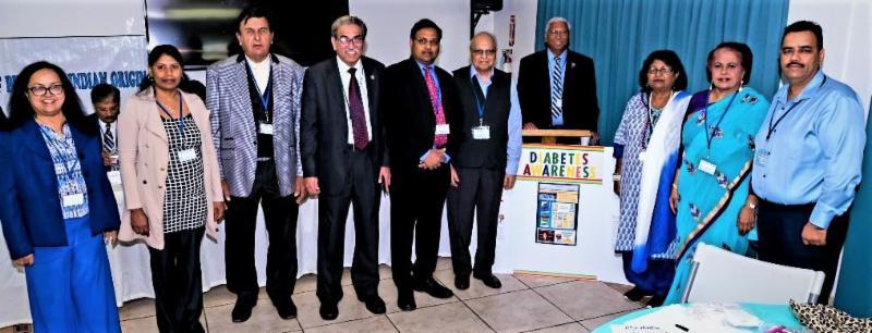 GOPIO Diabetes Summit organizers