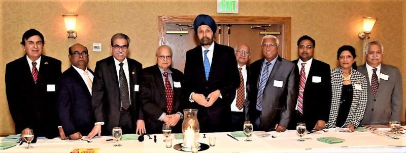 Indian Ambassador Sarna's Reception in Los Angeles