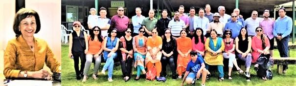 Shefali Mehta and GOPIO-Aukland Central Chapter Members Group