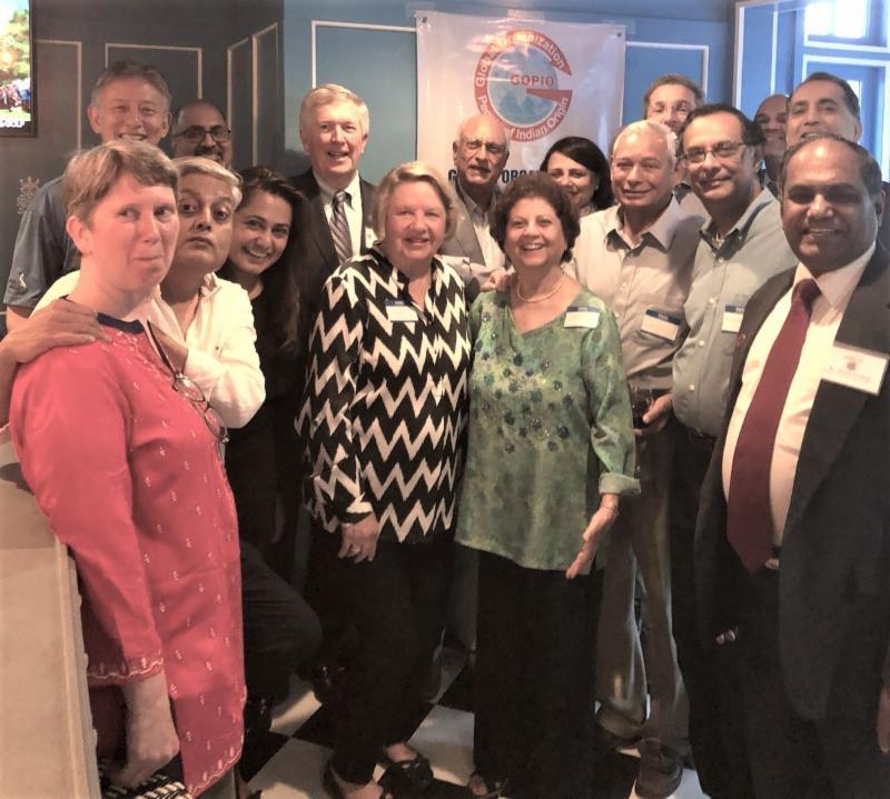 GOPIO-CT Meeting New Canaan First Selectman Kevin Moynihan