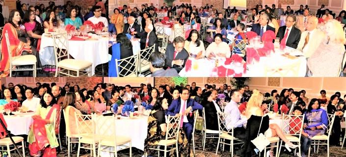 Audience at the GOPIO-Central Jersey Awards Gala Banquet
