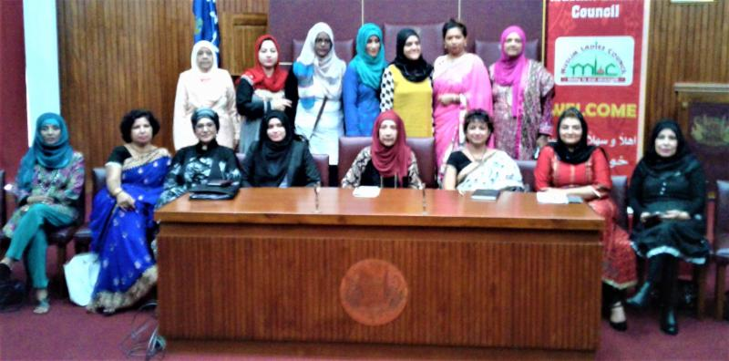 GOPIO-Triolet North Mauritius Press Conference against injustice to wear tika by Hindu women