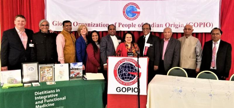 GOPIO-NY organized Health Symposium Organizers and Sponsors