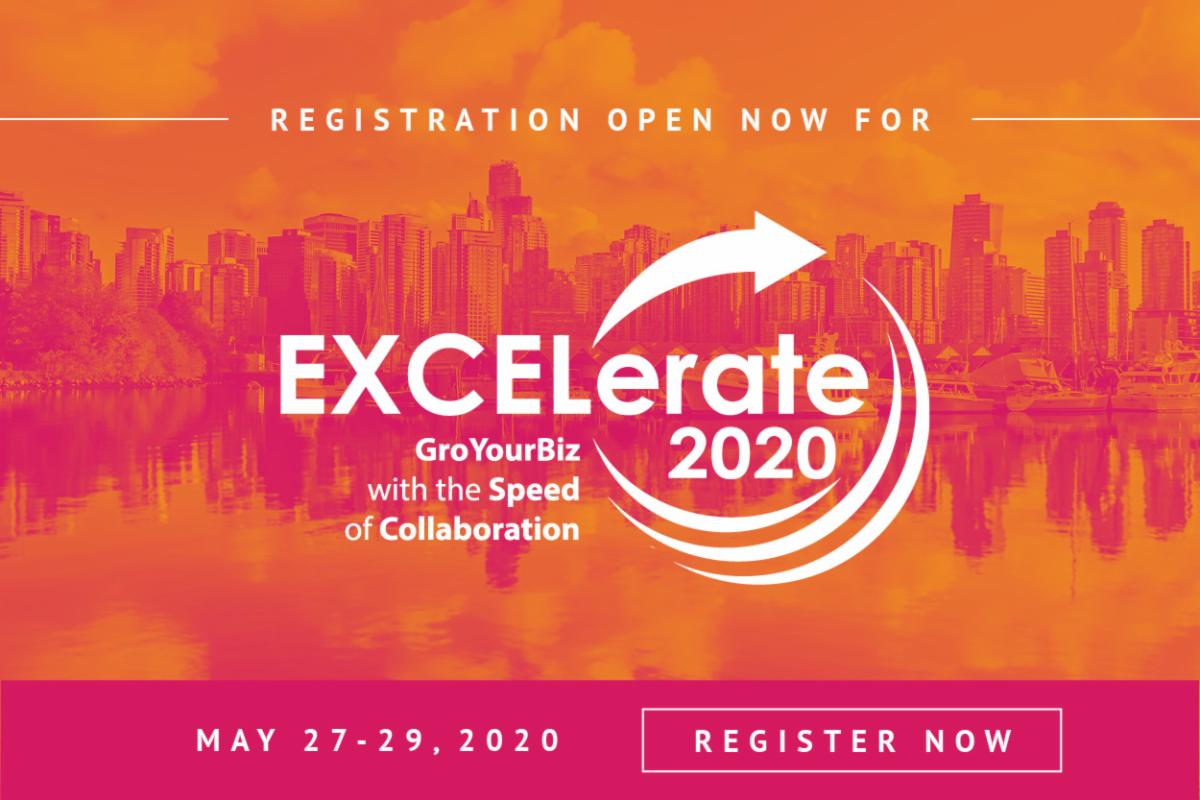 Register Now for EXCELerate 2020