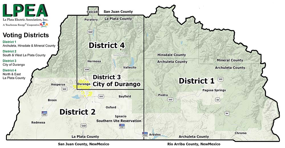 LPEA District Map