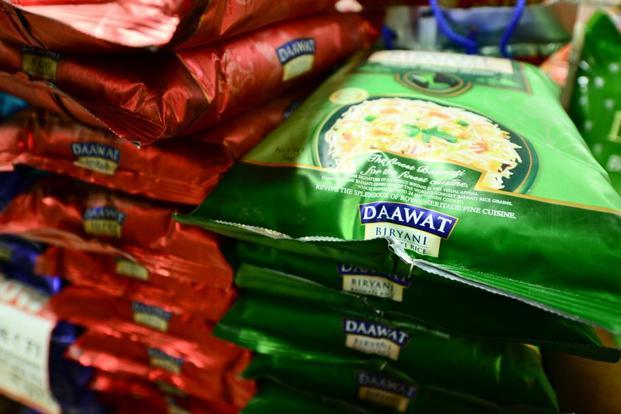 Live mint news on Daawat and Royal brands of basmati