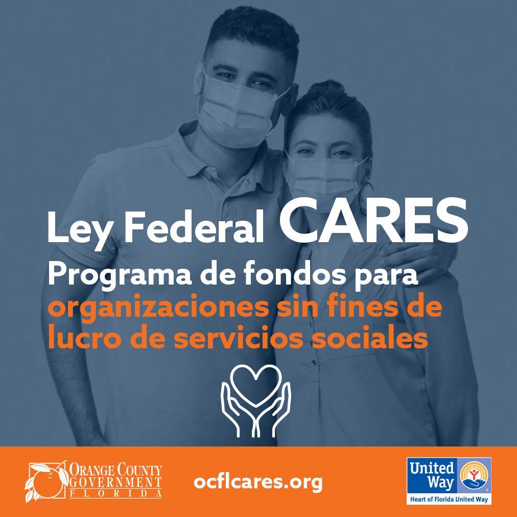 ley federal cares programa de fondos para organizaciones sin fines de lucro de servicios sociales