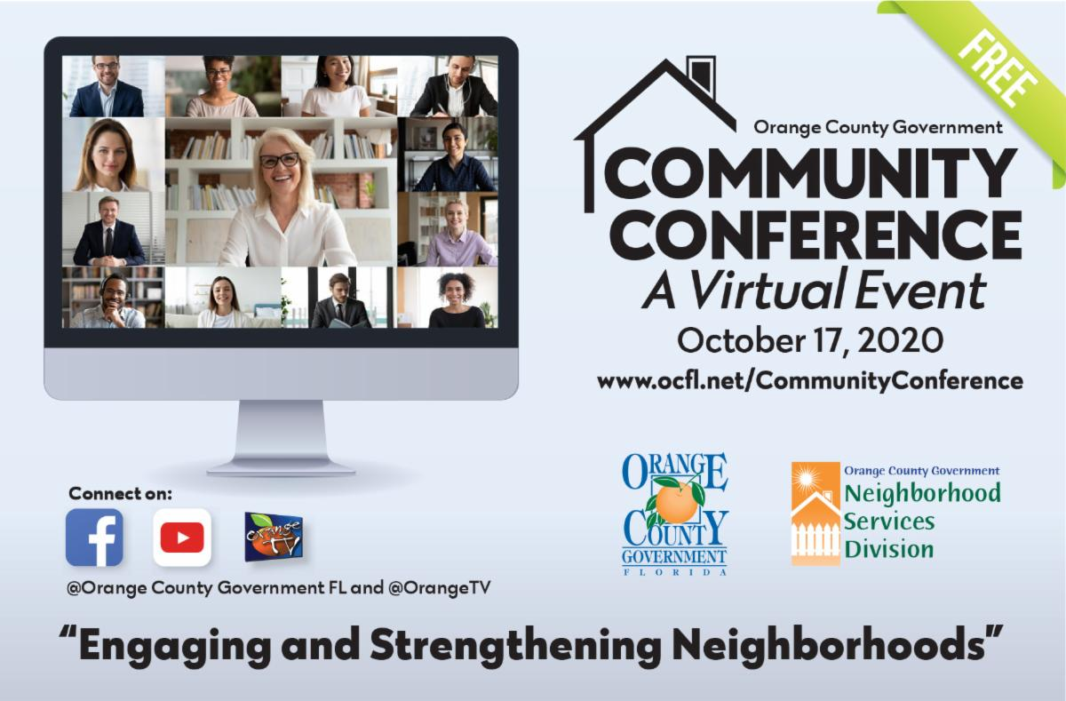 Community Conference a virtual event October 17 2020