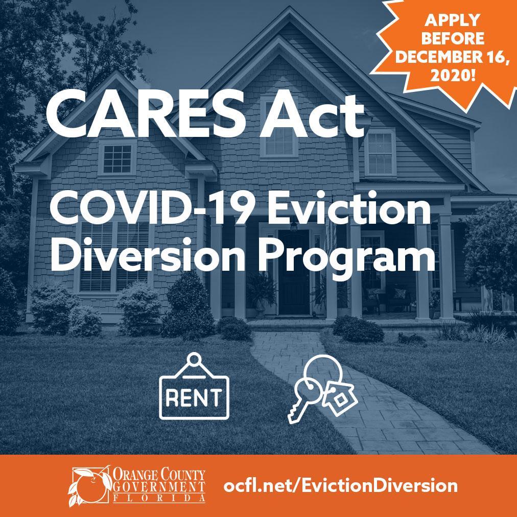 Covid 19 eviction diversion program