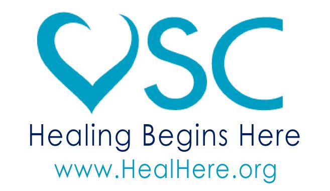 Healing Begins Here Victim Services Center logo